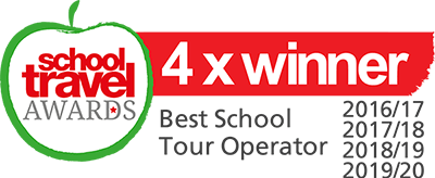 Winner - Best School Tour Operator - School Travel Awards