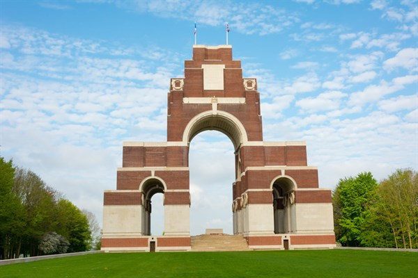 Thiepval War Memorial