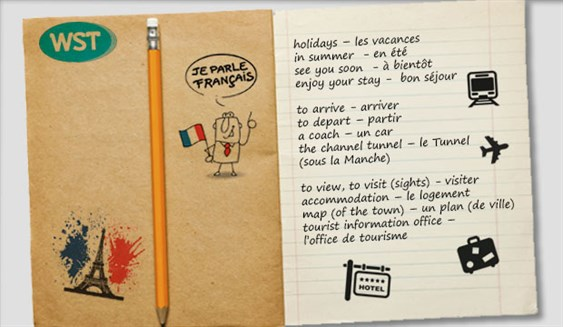 Phrase Book French Holidays